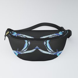 Horned Design Fanny Pack