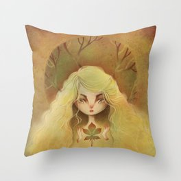 """""""Great-Rooted Blossomer"""" Throw Pillow"""
