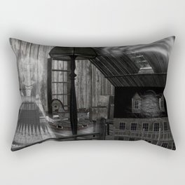 Toys in the Attic Haunted Rectangular Pillow