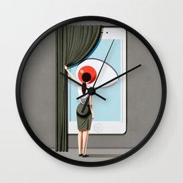 smart home Wall Clock