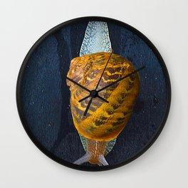 Escargot. Wall Clock