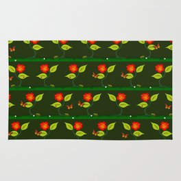 Plants and flowers Rug