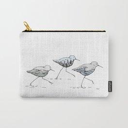 """ Shorebirds "" Carry-All Pouch"