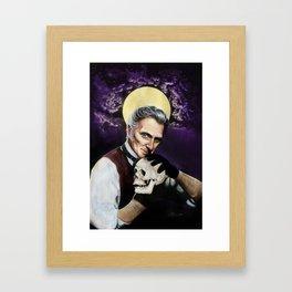 Saint Peter Cushing Framed Art Print