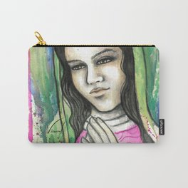 Virgen Guadalupe Carry-All Pouch