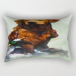 Duck Hunting Retriever Rectangular Pillow