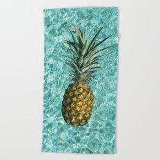 Pineapple Swimming Beach Towel