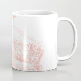 Stacked Pink Brushstrokes Coffee Mug