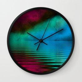 Stream of conciousness Wall Clock