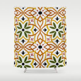 Obsession nature mosaics Duschvorhang