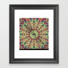 high & dry Framed Art Print