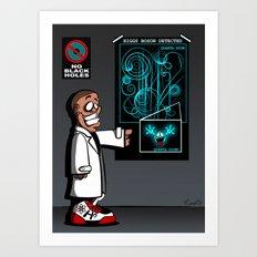 Mass Effect Too! Art Print