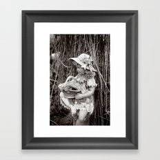 Under the Willow Tree III Framed Art Print