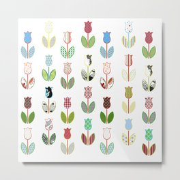 Tulips / 01 Metal Print