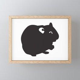 Hamster Animal Framed Mini Art Print