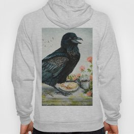 Breakfast With the Raven Hoody