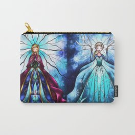 Anna and Elsa Carry-All Pouch
