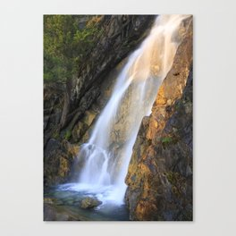 Falls at Holland Lake Canvas Print