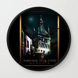 #SighisoaraClockTower Wall Clock