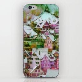 Rustic winter scene C iPhone Skin