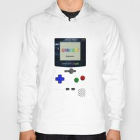 gameboy Hoodies featuring GAMEBOY by MiliarderBrown