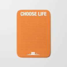 Choose Life Bath Mat