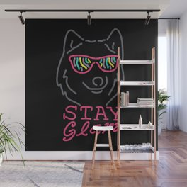 Stay Glam Wall Mural