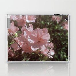 Happy Little Pink Flowers Laptop & iPad Skin