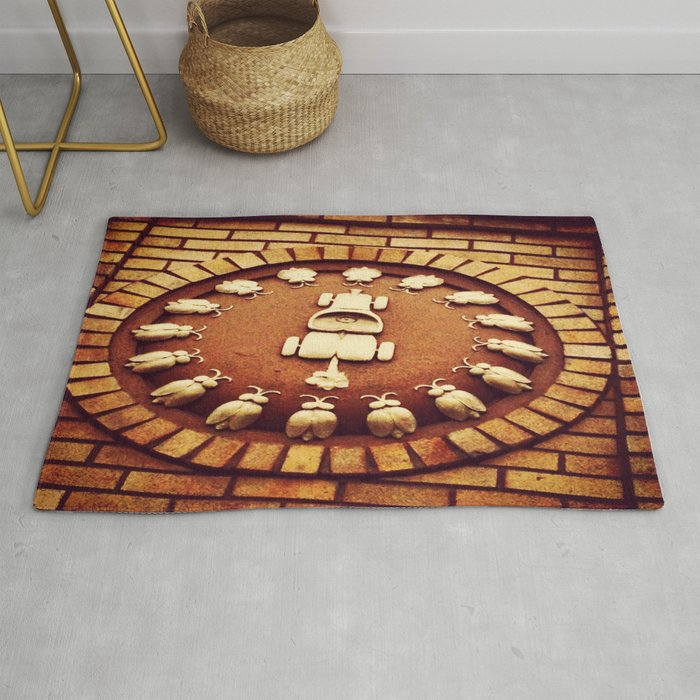 Car Beetle Mania Rug