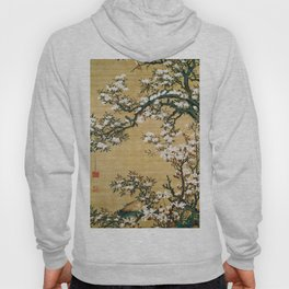Ito Jakuchu - Malus Halliana And White-eye - Digital Remastered Edition Hoody