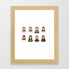 Bedouin Style Framed Art Print