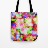 blush Tote Bags featuring Blush by Glanoramay