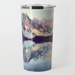 Moraine Lake Reflection Travel Mug
