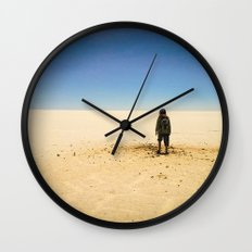 Offworld Imperfection Wall Clock