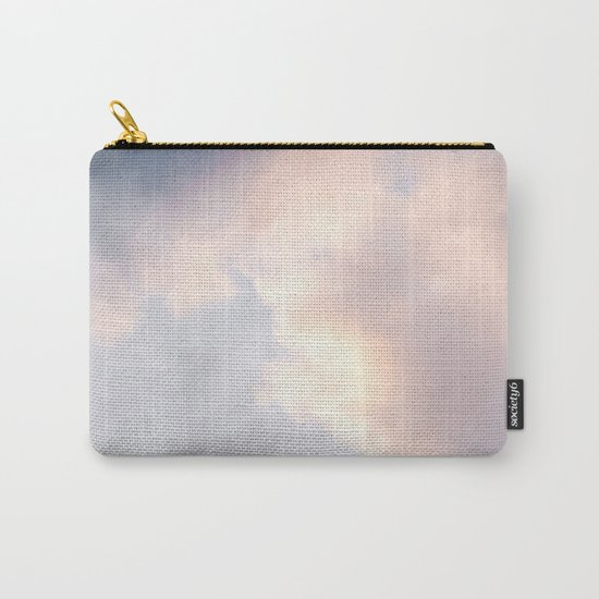 Creamy Clouds Carry-All Pouch