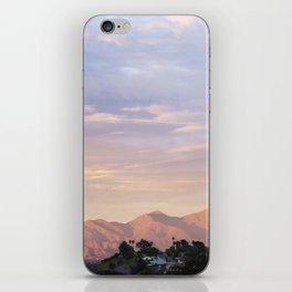 Sunset over Saddleback Mountain iPhone Skin