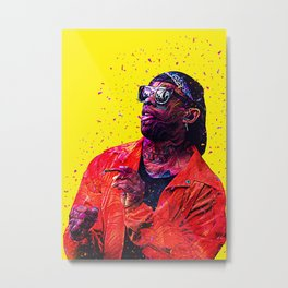 Ty Dolla Sign - Funky Series Metal Print