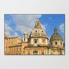 Roman Architecture Canvas Print
