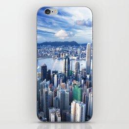 Hong Kong-Buildings iPhone Skin
