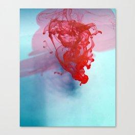 Ink Drop Canvas Print