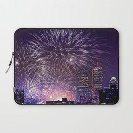 Massachusetts  July 4th Pops Fireworks Laptop Sleeve