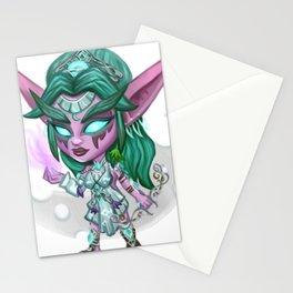 Tyrande Whisperwind Chibi Stationery Cards