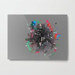 hairs Metal Print