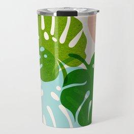 Abstraction_FLORAL_NATURE_Minimalism_001 Travel Mug