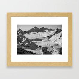 Somewhere outside of Valdez Framed Art Print