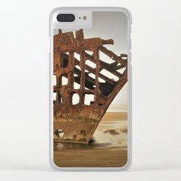 Shipwreck Clear iPhone Case