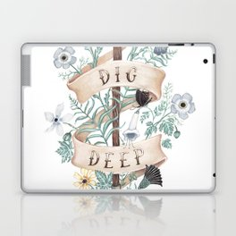 Dig Deep Laptop & iPad Skin