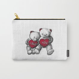 Bear: Valentine's Day Carry-All Pouch