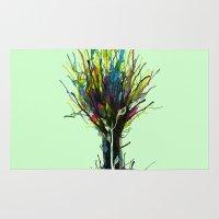 creativity Area & Throw Rugs featuring Creativity by Tobe Fonseca