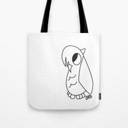 Emo Owl Tote Bag